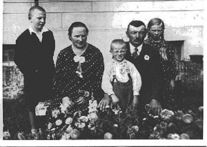 Susiraukusi Drevernos Jankų šeimą.